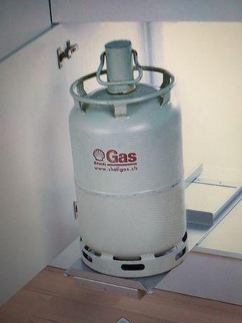 Prowadnica wózek na butle gazową do szafki