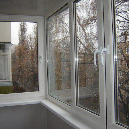 Г-образный балкон с УСТАНОВКОЙ и дополнительными элементами
