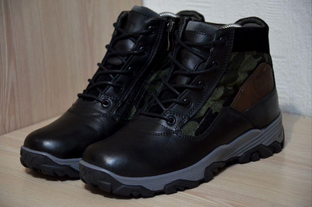 Зимние кожаные ботинки на меху Mone Винница - изображение 1
