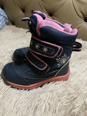 Зимние термо сапоги ботинки B G Termo на девочку 25 размер 16 см B&G T