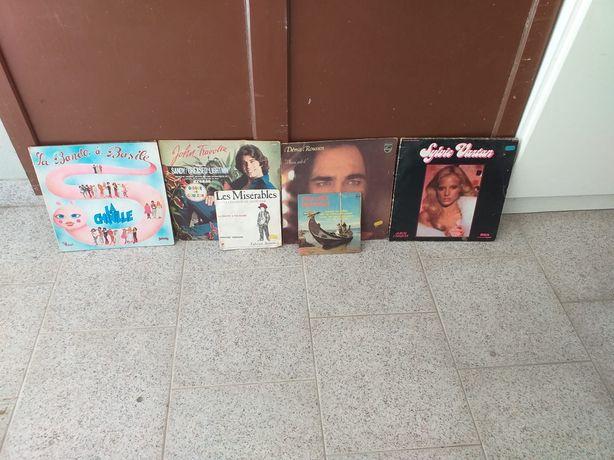 Conjunto de discos de vinil