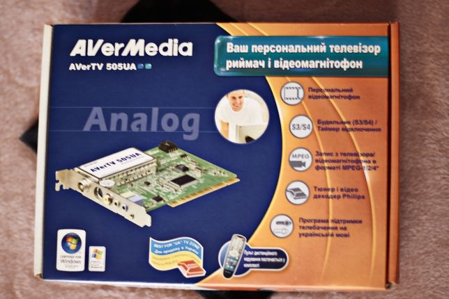 ТВ-тюнер AverTV 505 UA