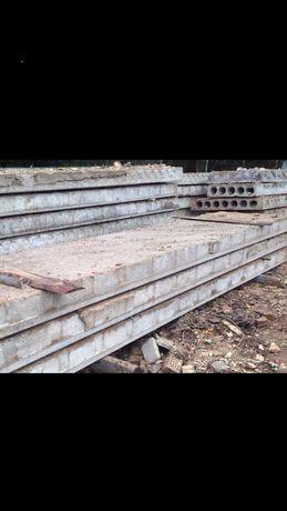 Плита перекрытия, фундаментные блоки Б/У