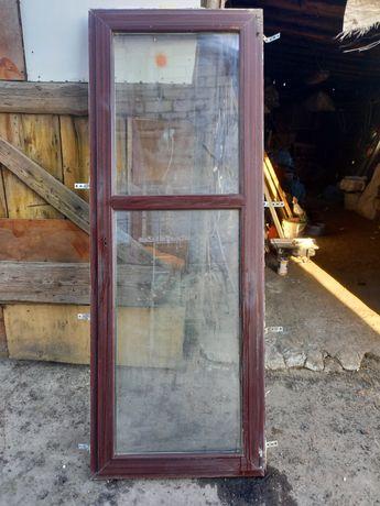 Okno balkonowe 226x84