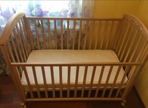 Кроватка детская Италия Pali zoo с матрасом кровать детская