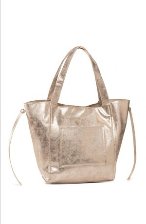 Nowa złota torebka shopper Jenny Fairy