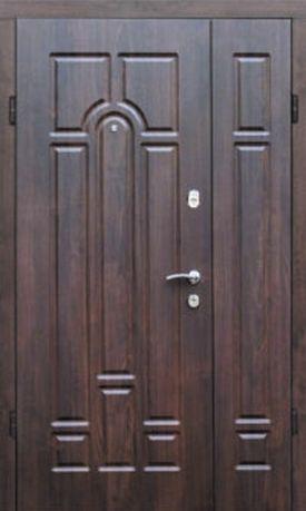 Вхідні полуторні вуличні двері ТМ «Портала», Комфорт (1200*2040мм)