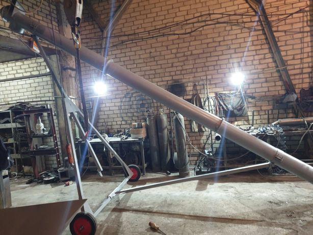 Шнек, Шнековый погрузчик,транспортер, разгрузчик зерна, металл 3мм