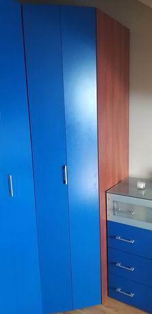 Meble VOX podświetlane, komoda, szafa, biurko, biblioteczka