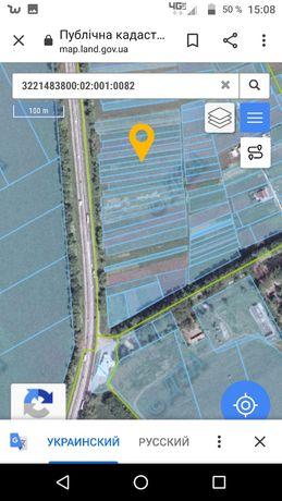 Продам земельные участки, фасад Одесской трассы,40км. от Киева