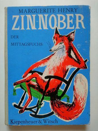 Книга Zinnober der Mittagsfuchs на німецькій мові