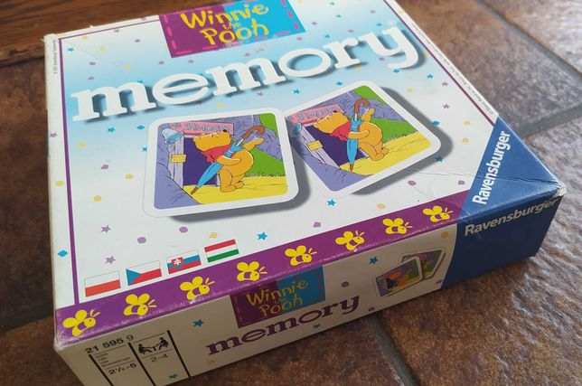 Winnie the Pooh  memory  Ravensburger