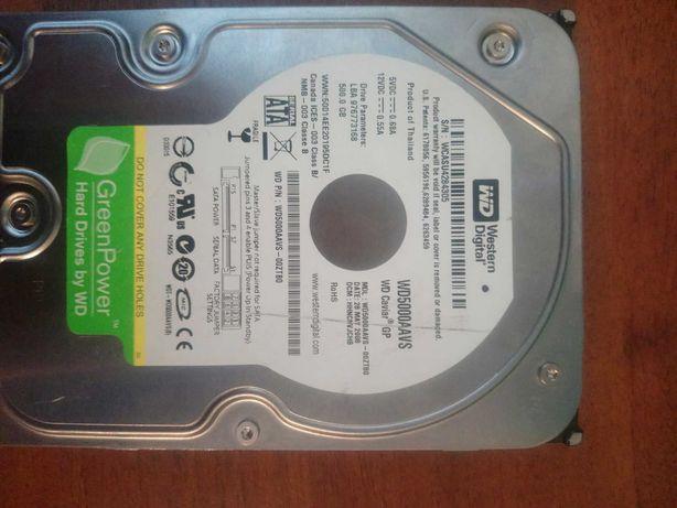 hdd western digital 500 gb