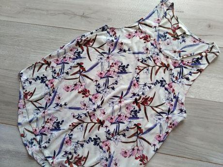 H&M koszulka top w kwiaty M