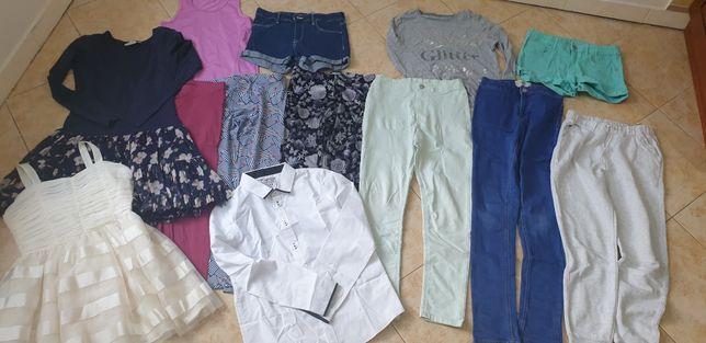Zestaw ubrań 146 dla dziewczynki bdb
