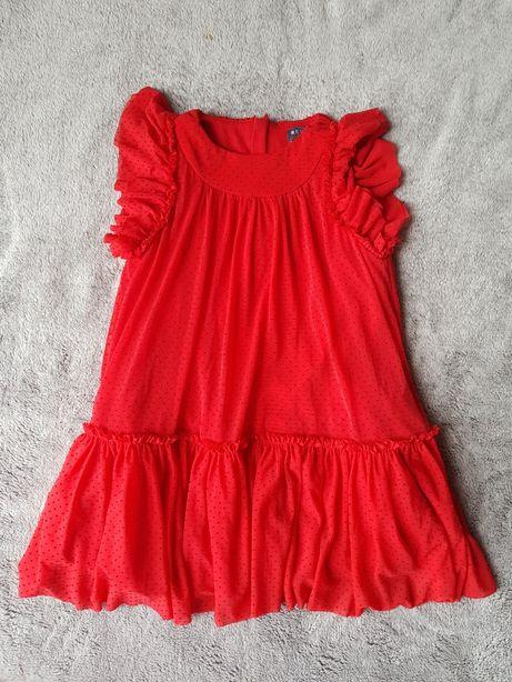 Czerwona sukienka, Reserved, rozm. 98