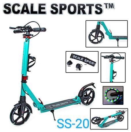 Городской Caмoкaт складной детский Scale Sports ss10/20 ручной тормоз
