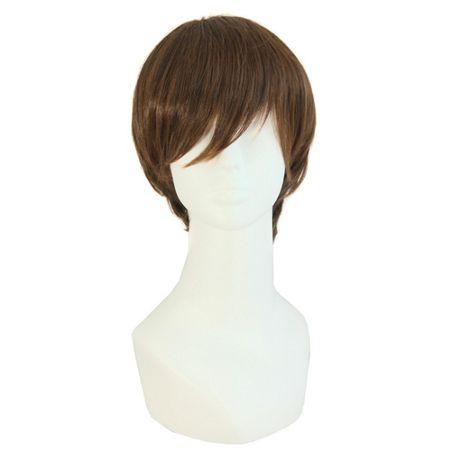 Peruka włosy krótkie ciemny blond męskie W13