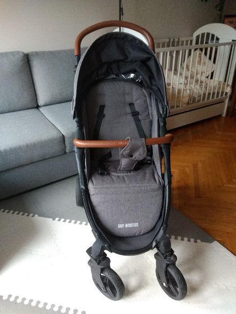 Wózek spacerowy, spacerówka Baby Monster Compact 2.0 Plus Texas