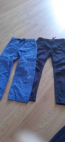 Spodnie materiałowe na 116