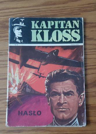 """Komiks Kapitan Kloss """" Hasło"""" nr 6 wyd. I z 1971 roku"""