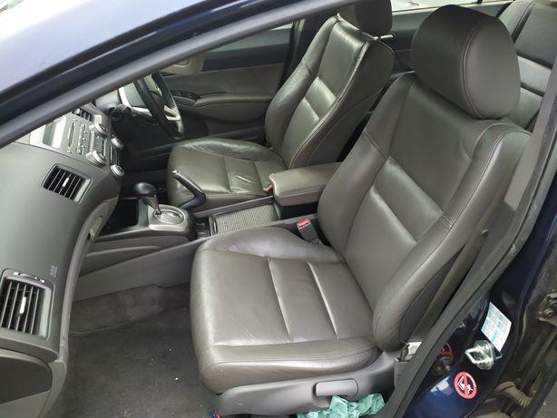 Салон кожа шкіра Honda Хонда Civic Цивик 4D FD 4Д