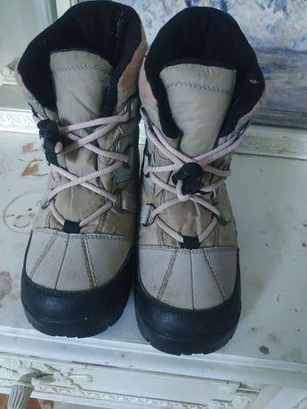 Зимние ботинки теплые
