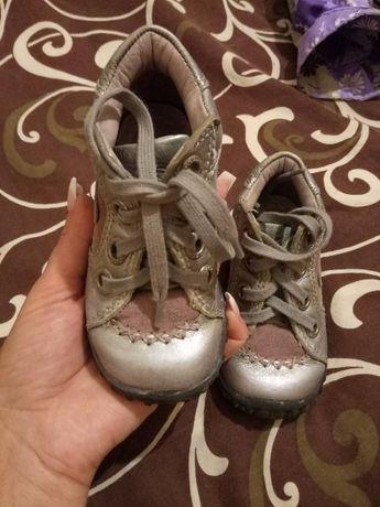 Кожаные ботиночки ЕССО 22 размер