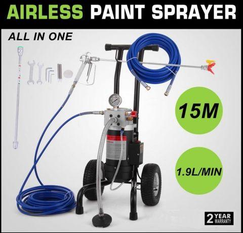 Pintura Sistema Airless, Pulverizador de tintas a alta pressão.