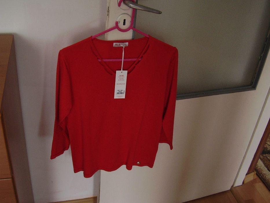 Sweter czerwony AL-BO Jawor - image 1
