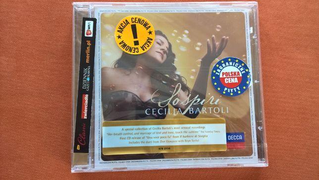 "Cecilia Bartoli ""Sospiri"" CD nowa w folii"