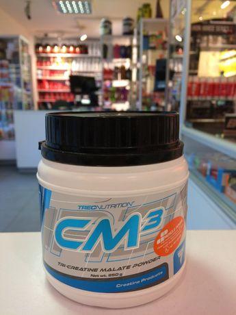 TREC CM3 Powder - 250g jabłczan kreatyny, masa, siła Muscle Power