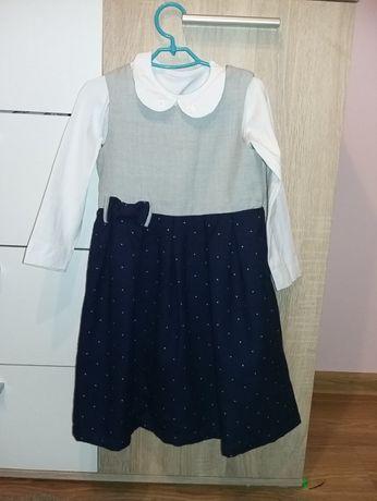 Sukienka, bluzka, komplet Smyk r. 116