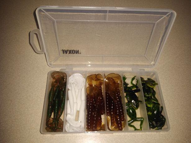 Zestaw przynęt+pudełko
