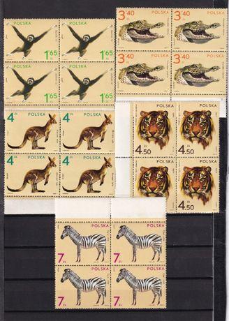 Polska 1972** fi 2015-23 czwórki znaczki pocztowe czyste