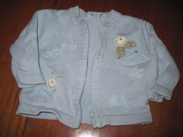 casaco chicco tamanho 1 mes