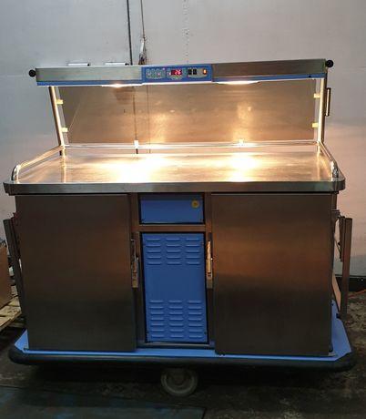 Lada chłodniczo grzewcza wózek gastronomiczny