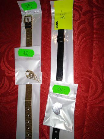 Bransoletki zegarkowe i zawieszki