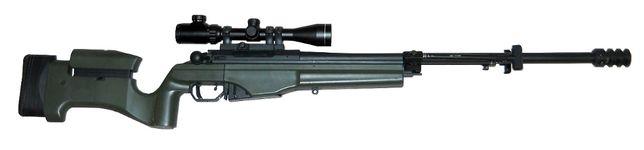 Replika ASG - karabin snajperski ARES MSR-009 (GBB) - SAKO