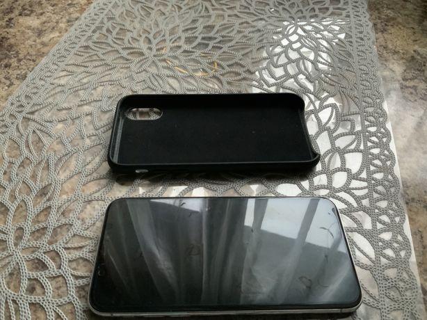 iPhone X, 64GB, super stan, silver/biały