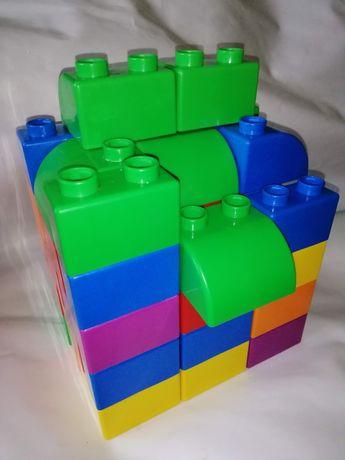 50дет огромный Лего оригинал большой Lego крупный конструктор
