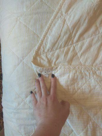 детское стёганое хлопковое одеяло в кроватку Руно 105х140 см