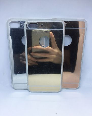 Capa espelhada para Iphone 5/6/6S/6P/7/7P/8/8P