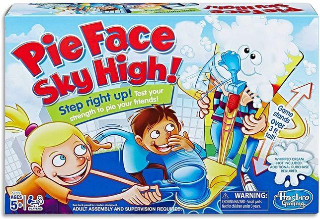 Настольная игра Пирог в лицо в полный рост Pie Face Оригинал.4