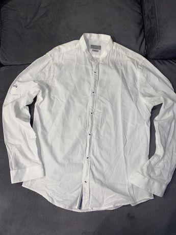 Oryginalna koszula Zara Slim stójka rozm S/36