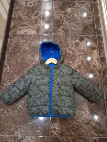 Двухсторонняя куртка динозаврики