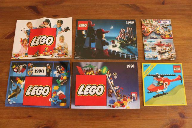 Lego Catálogos Gerais Vintage