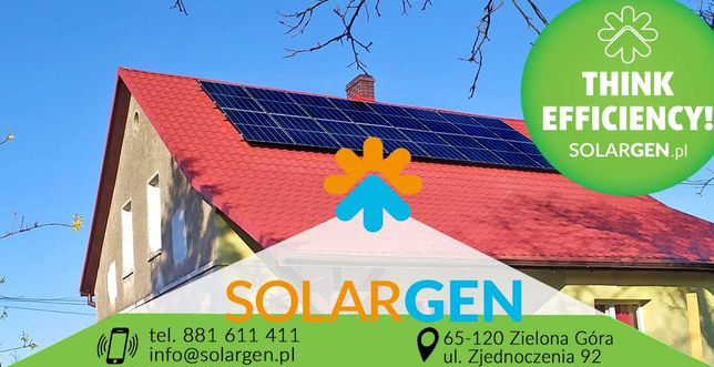 Elektrownia słoneczna, fotowoltaika/3,80kW/czarna rama-14300zł brutto