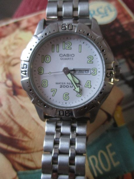 Casio MTD-1001 c/a bracelete original