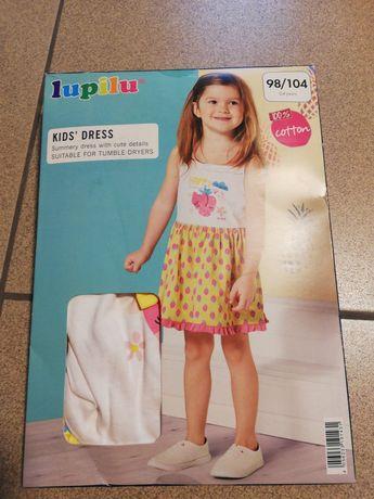 Sukienka dziewczęca 98/104 LUPILU